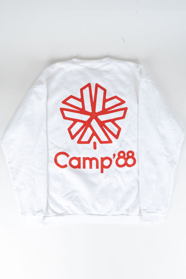 Camp'88 Limited Edition Heavy Weight Crewneck // White
