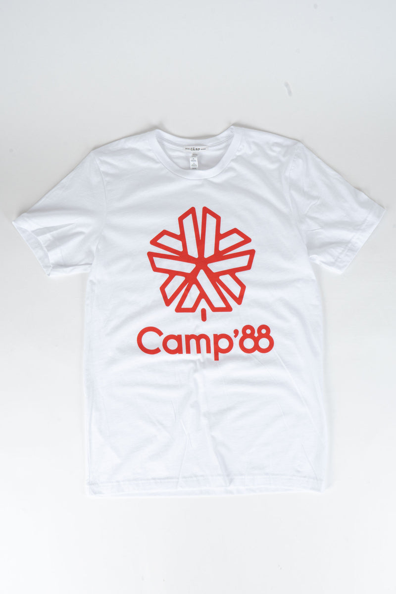 CAMP'88 T-SHIRT // WHITE