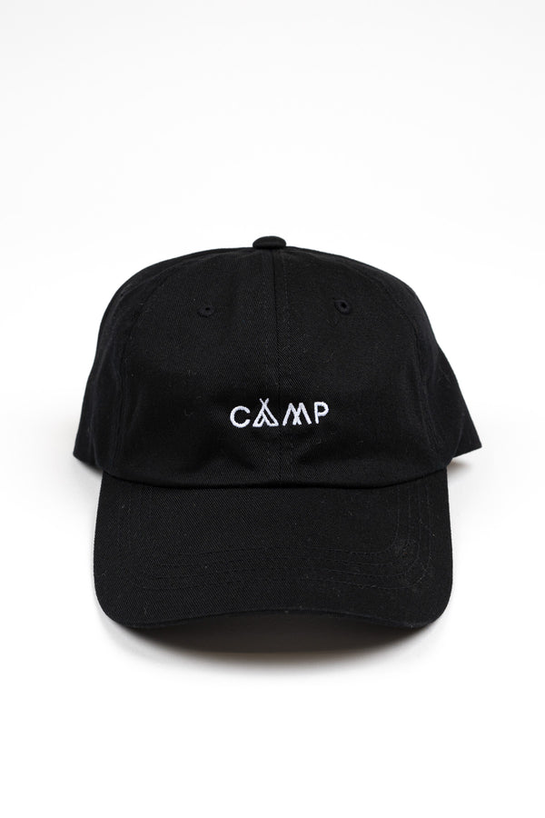 Wordmark Dad Cap // Black