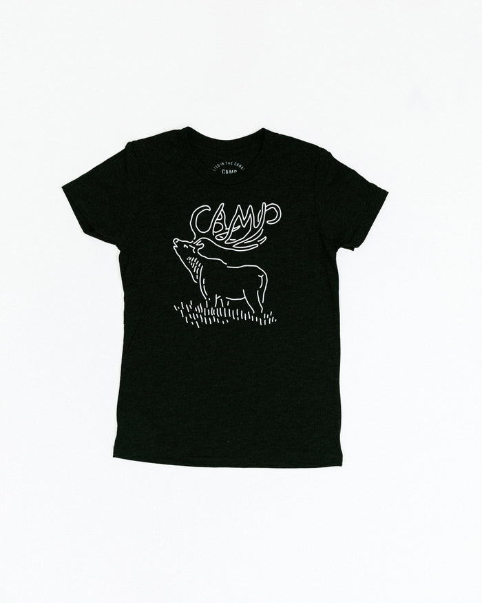 KIDS CAMPIBOU T-SHIRT // TRI CHARCOAL