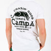 CHASIN' GOOD TIMES T-SHIRT // WHITE - !FINAL SALE!