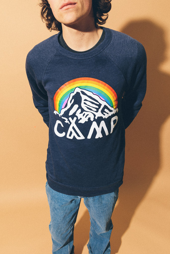 IN IT TOGETHER CREWNECK // NAVY HEATHER