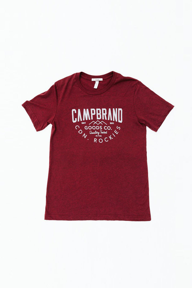 TRIED & TRUE T-SHIRT // CARDINAL HEATHER