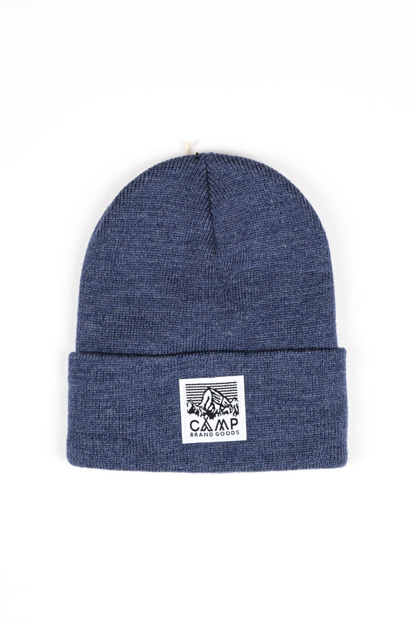 HERITAGE LOGO TOQUE // NAVY HEATHER