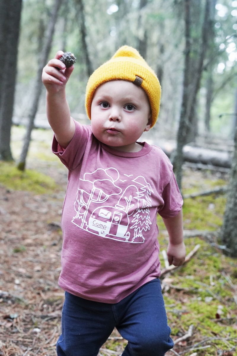 Toddler Bolerama T-Shirt // Mauve