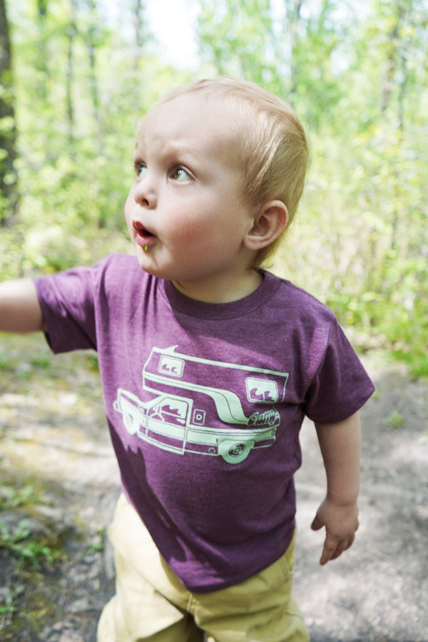 Toddler McNeilly T-Shirts // Maroon