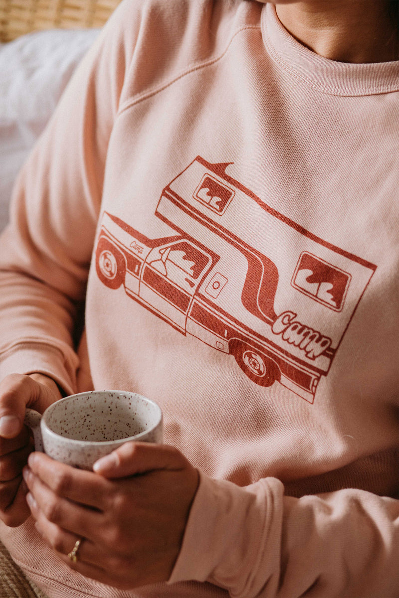 McNeilly Sweatshirt // Peach