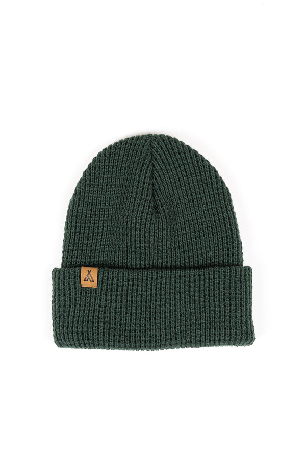 Campers Logo Waffle Toque // College Green