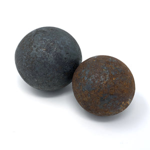 Antique Iron Balls