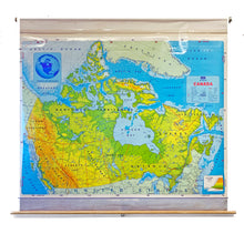 Load image into Gallery viewer, Vintage Schoolhouse Map of Canada