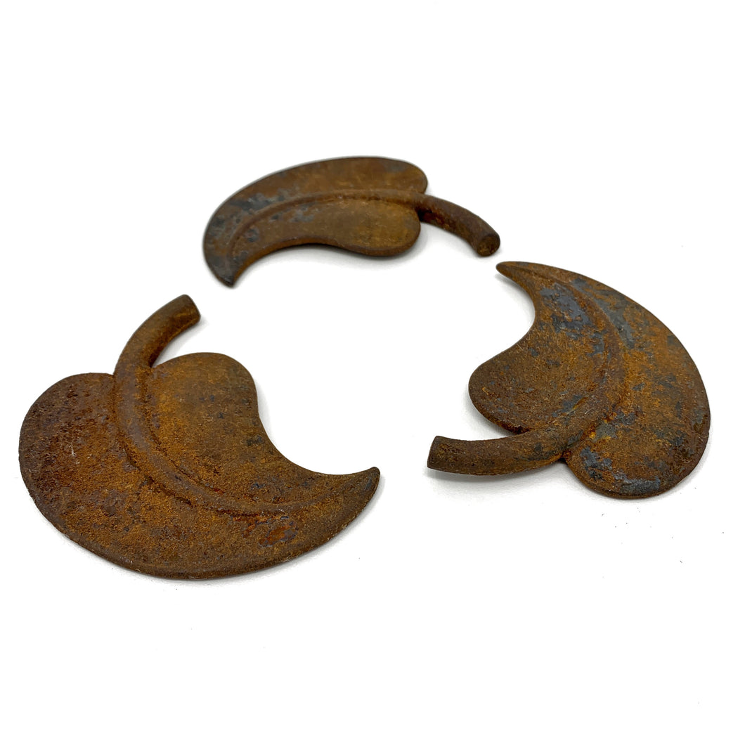 Antique Iron Leaves