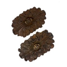 Load image into Gallery viewer, 17th Century Handcarved Flowers