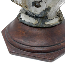 Load image into Gallery viewer, Antique Tin Flame Finial