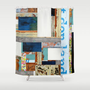 "Shower Curtain ""Special House"""