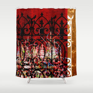 "Shower Curtain ""Undress Code"""