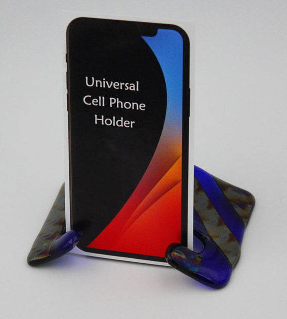 Glass Cell Phone Holder
