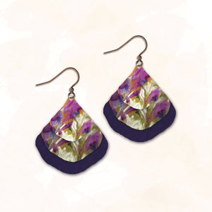 11NGE - Illustrated Light - Abstract Earring