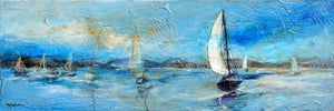 """Dreamy Day Sailing, II"" - Christopher Mathie Fine Art"