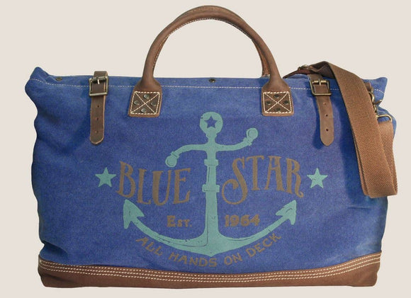 Tool Bag Overnighter Blue Star