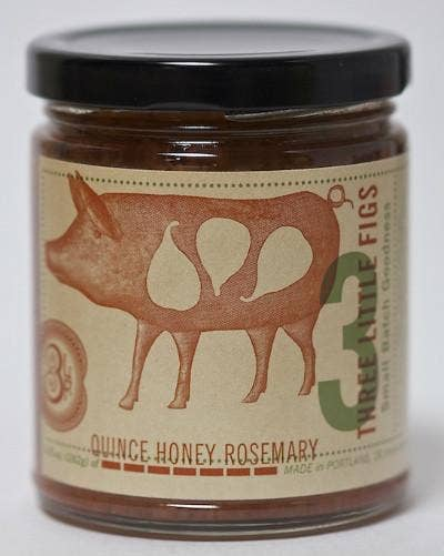 Quince Honey Rosemary Jam