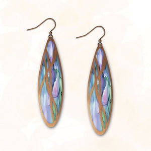1CGC - Illustrated Light - Abstract Earring