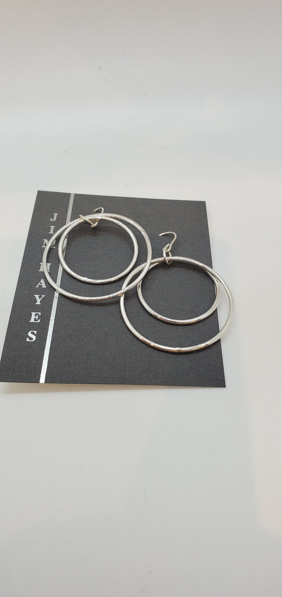 Earrings by Jim Hayes