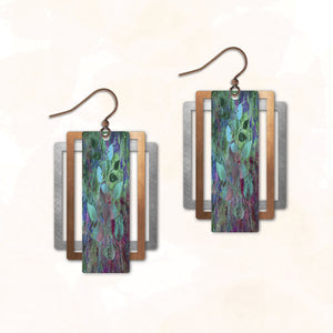 3CS1- Illustrated Light - Abstract Earring