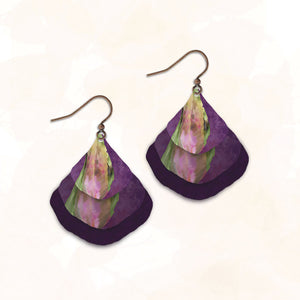 4NGE - Illustrated Light - Abstract Earring