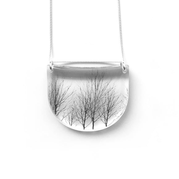 Drop Trees Necklace
