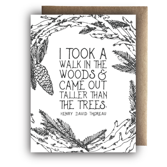 A Walk In the Woods | Greeting Card