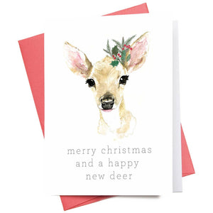 And a Happy New Deer | Christmas Greeting Card