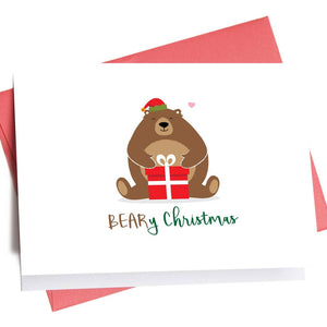 BEARy Christmas | Holiday Greeting Card