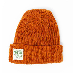 Beanie - Friends of Nature  Burnt Orange