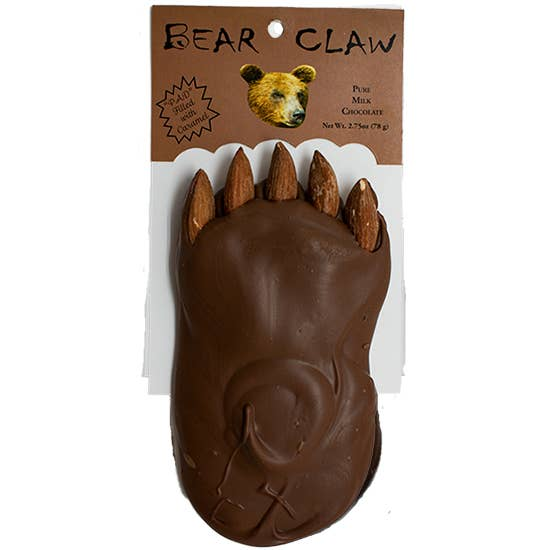 2.75oz Bear Claw - Almonds, Caramel and Milk Chocolate