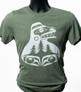 """Bear the tree hugger"" T-shirt"