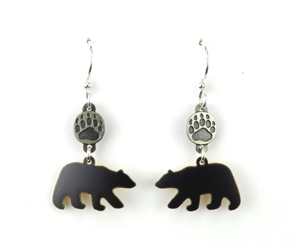 Joseph Brinton - Bear with Paw Earrings