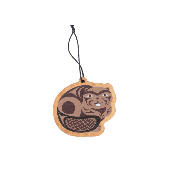 Beaver Ornament - Native Northwest