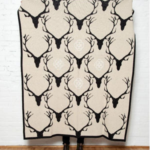 Eco Stag Longhorn Throw