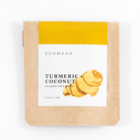 Facial Mask: Turmeric + Coconut Mini • Calming & Soothing