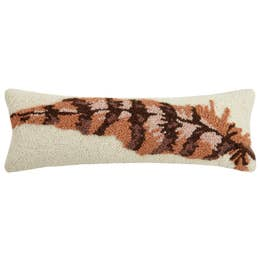 Feather Hook Pillow