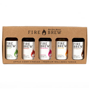 Fire Brew | 2 oz Sampler Set | ACV Superfood Tonic