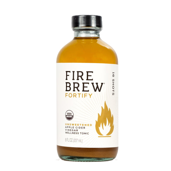 Fire Brew | Fortify - Unsweetened | ACV Tonic | 8 oz