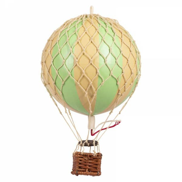 Floating The Skies - Green Stars Balloon