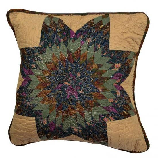 Forest Star Decorative Pillow