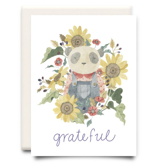 Grateful | Thanksgiving Greeting Card