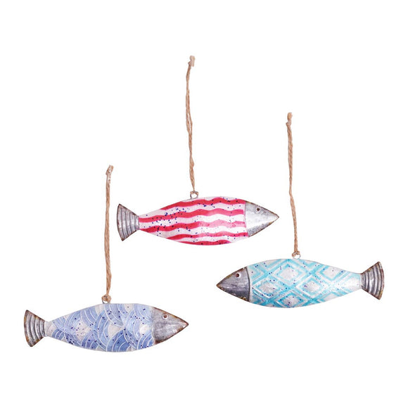 Harpswell Fish Ornaments