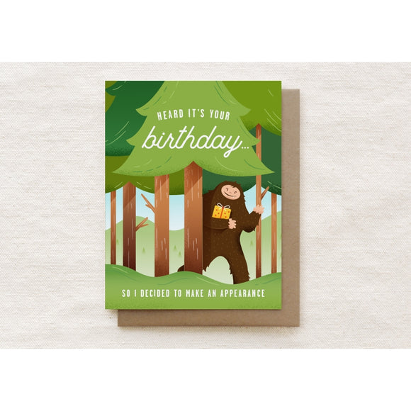 Heard It's Your Birthday Greeting Card