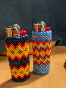 Nez Perce Beaded Lighter Cover