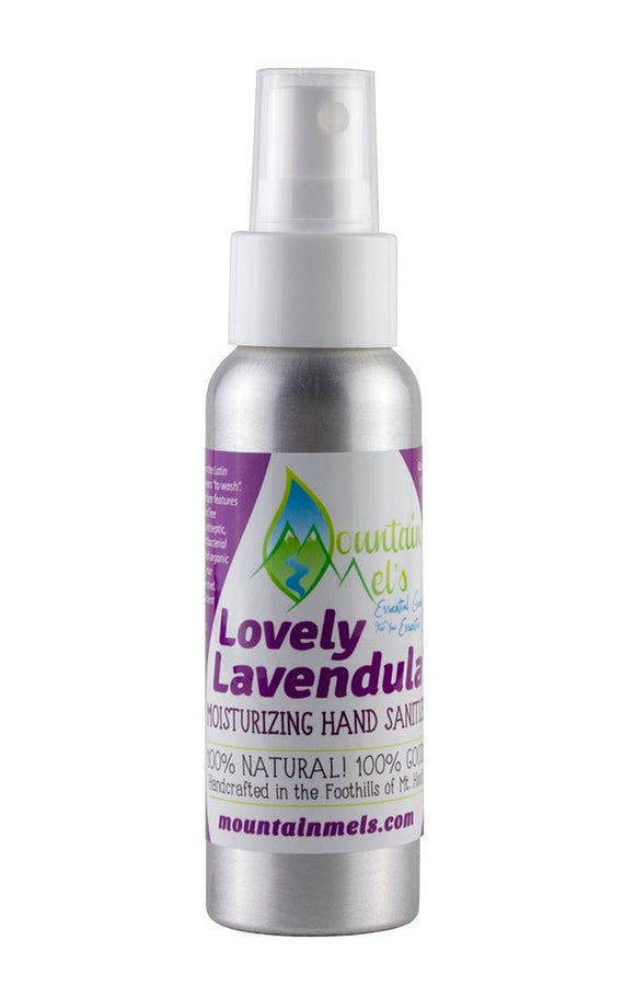 Lovely Lavendula Moisturizing Hand Sanitizer  -Mountain Mel's Goods