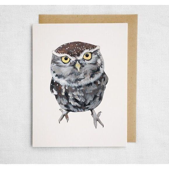 Little Owl Card
